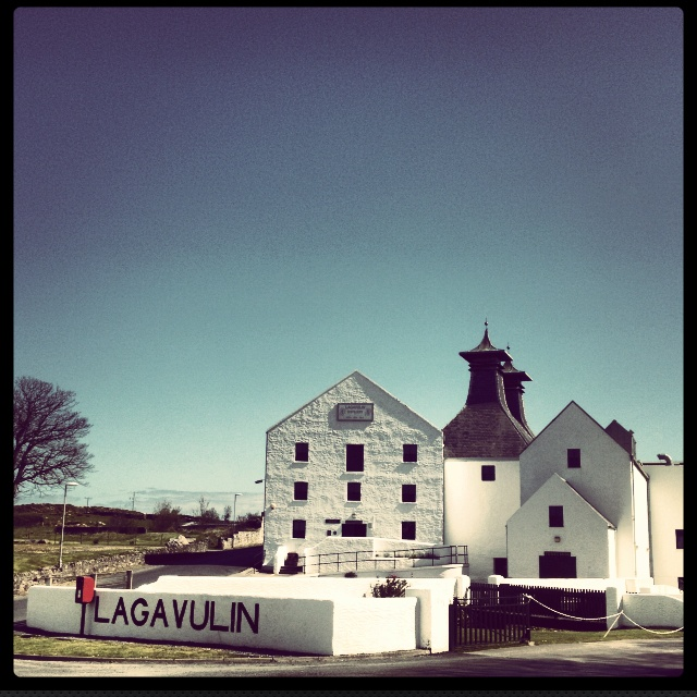 Spend the day and partake heartily at the Lagavulin Distillery. My favorite single malt scotch.