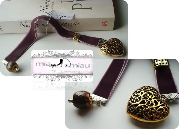 Marcador de Livros   Ref:# ML004  Contacte miauu.mia@gmail.com