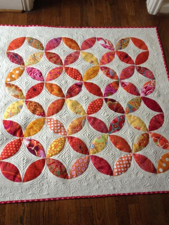 102 best Quilts - Orange Peel images on Pinterest | Crafts, Green ... : orange peel quilt - Adamdwight.com