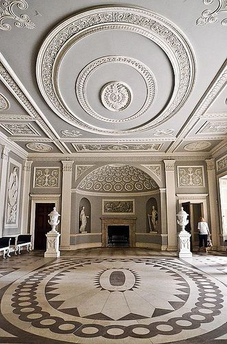Osterley house national trust trust and house for Georgian architecture interior design