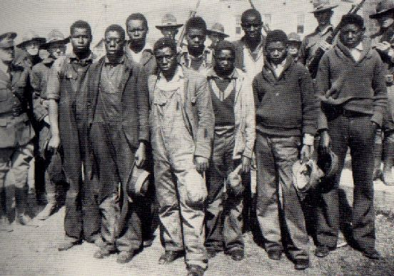 THE SCOTTSBORO BOYS In the 1930s, two white prostitutes falsely accused nine black men of gang-rape, in order to avoid facing other police charges. Click the link to read more about the Scottsboro trials.