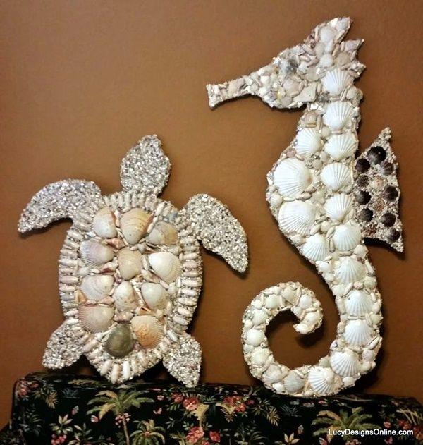 Beautiful and Magical Sea Shell Craft Ideas (13)
