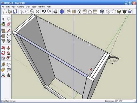 Sketchup for woodworkers getting started part 1 for Planer com