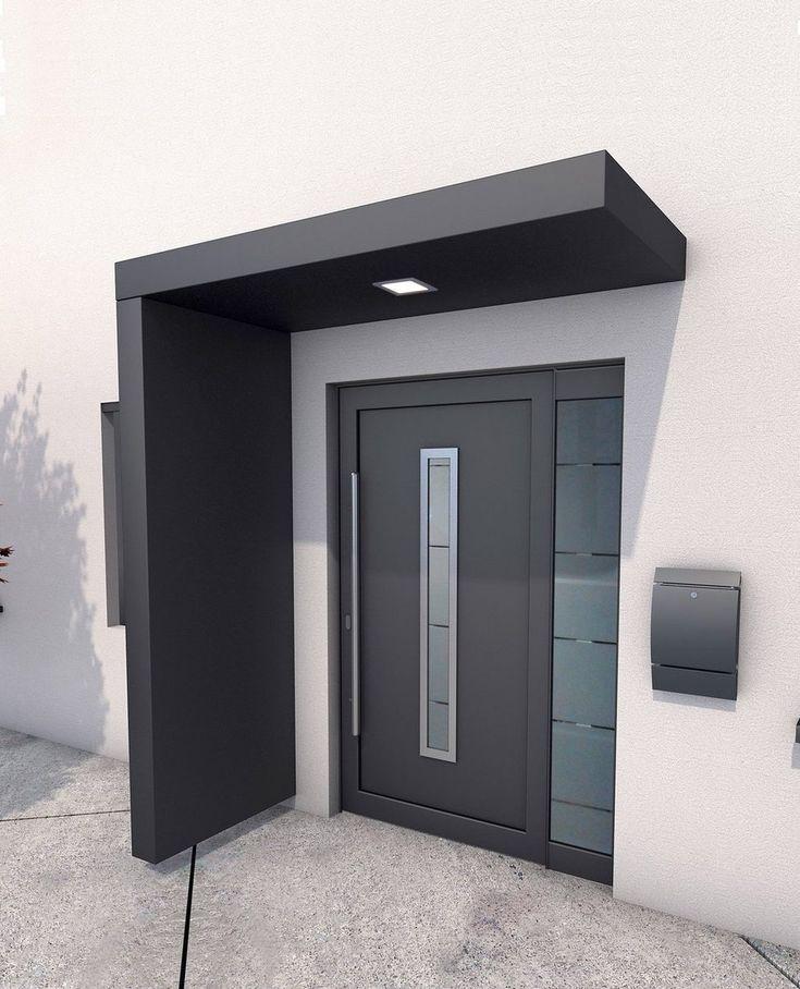 GUTTA Vordach-Set »BS 200«, 200 cm, mit Seitenteil, Aluminium anthrazit online kaufen