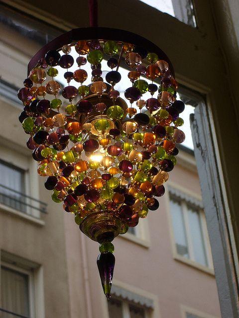 10A Loupiote amethyste ambre et verte en verre de Murano   Flickr: partage de photos!