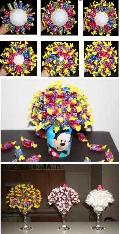Candy Bouquets♡arreglos de dulces