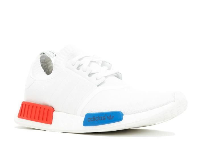 Kanye west shoes online store offer Cheap NMD Runner Red Blue White Shoes,discount  cheap yeezy boost 350 Online for Sale