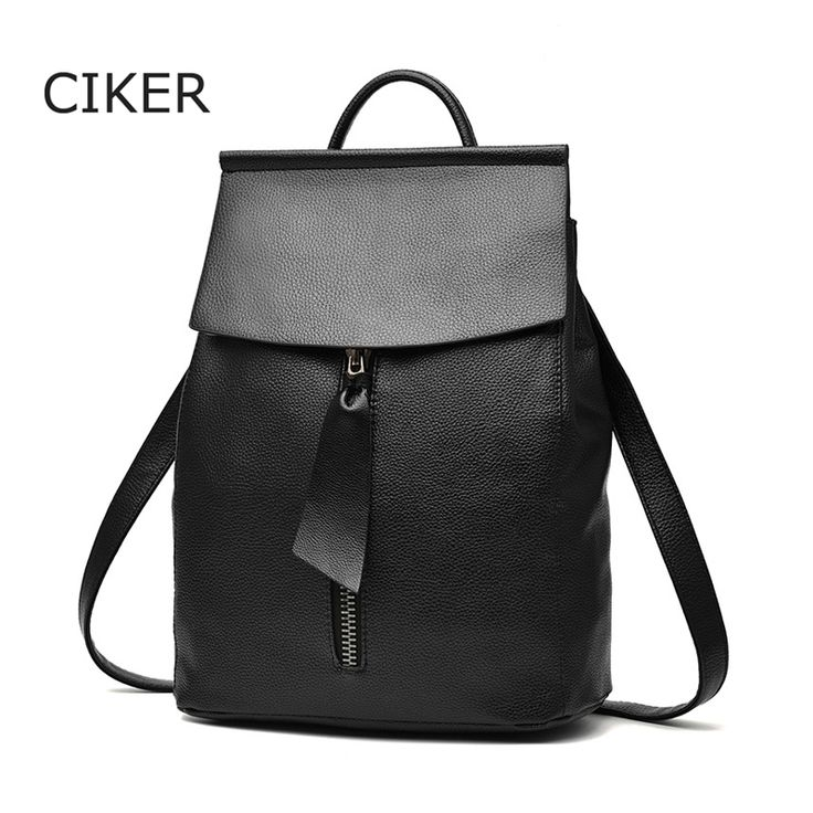 Cheap backpack gym bag, Buy Quality bag pack directly from China backpack bag Suppliers: CIKER Famous brands new 2017 women Backpack Mochila women's travel bags school bag leather backpacks high quality rucksack solid