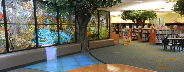 Reading Room With Computer Of Public Library With Refreshing Natural  Elements | Naturaalsed Elemendid Raamatukogus | Pinterest | Public,  Building Furniture ...