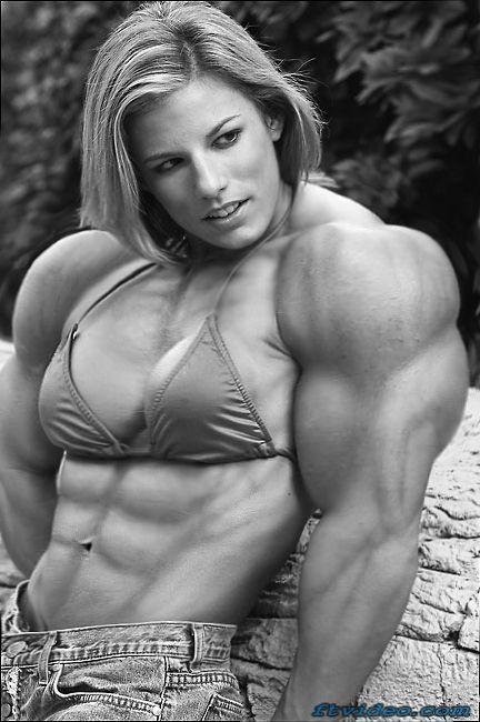 bodybuilder Dominant female