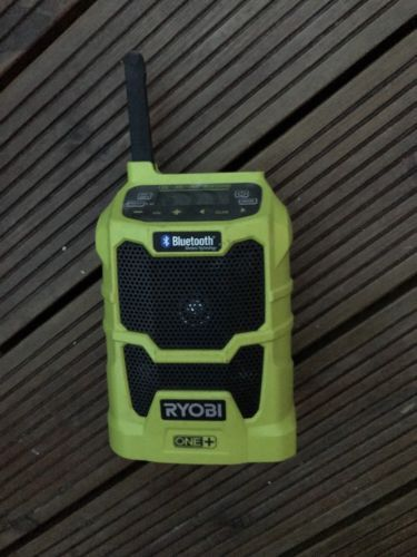 Ryobi R18R 18v Cordless Bluetooth Radio No Batteries, in excellent condition in Business, Office & Industrial, Power Tools, Other Power Tools | eBay