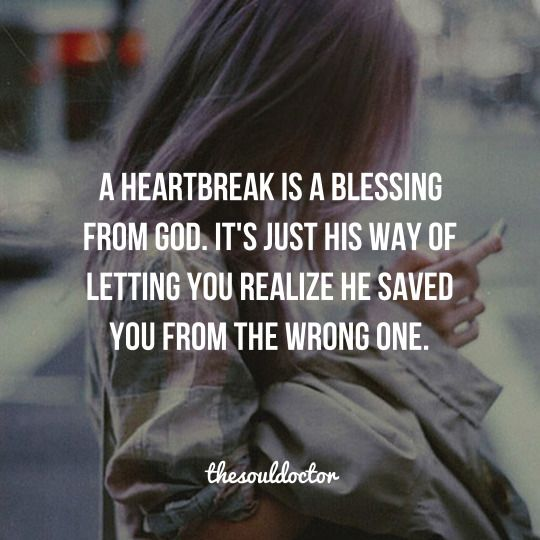 My experience of this is true , but Ladies Jesus is the healer of the soul and ❤️