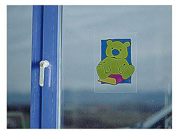 "Sattleford 2 Fensterfolien ""TransLux"" selbsthaftend A4  für Inkjet Sattleford Bedruckbare Klebefolie"