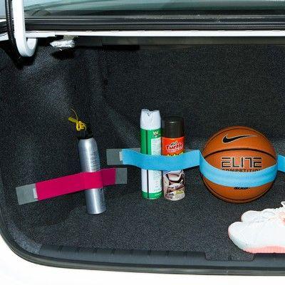 60 cm Araba Trunk Organizer İstifleme toplama Elastik Araba-styling Velcro Askı Sabit Muhtelif Otomobil İç Aksesuar Malzemeleri