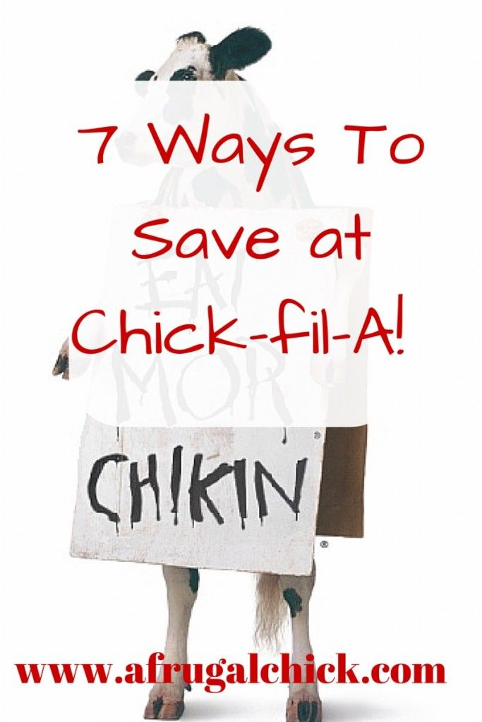 39 best saving money images on pinterest ways to save at chick fil a check out these 7 simple ways fandeluxe Choice Image