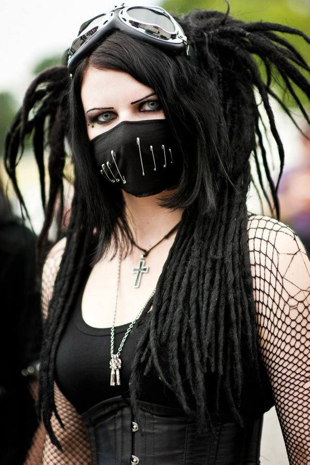 cyber goth clothing - Google Search