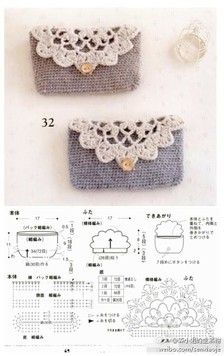 A crochet pineapple little pouch - sweet……_来自pxk119的图片分享-堆糖网