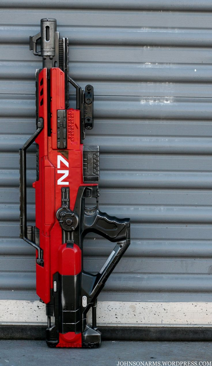 Mass Effect Style. Nerf Gun Mod. need to work on that