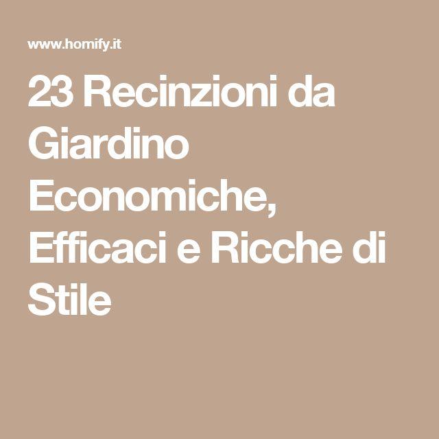 23 Recinzioni da Giardino Economiche, Efficaci e Ricche di Stile