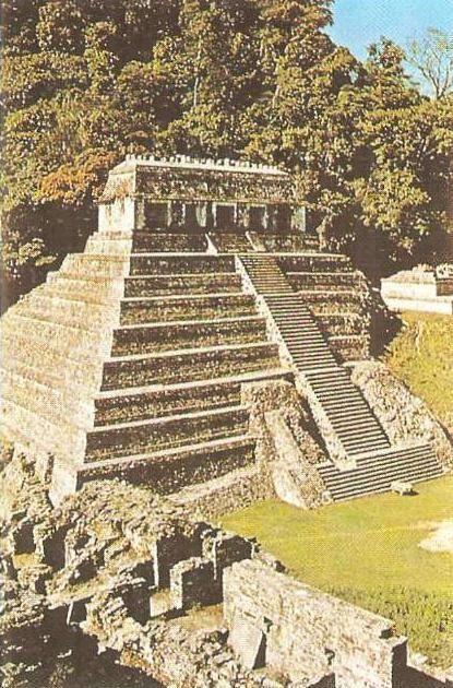 'Храм надписей'. Культура майя. Паленке. VIII в. н.э.