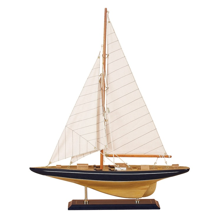 "21"" Maritime Sail Boat Décor made by Maritime Accents."
