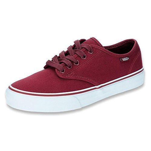 brand new 0d6ae 0d618 Vans Damen Camden Stripe Classic Sneaker, Rot ((Canvas ...