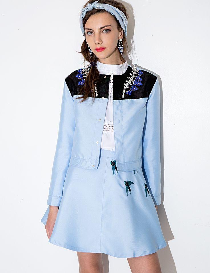 Sister Jane Sonic Armada Jacket - Jeweled Jacket -