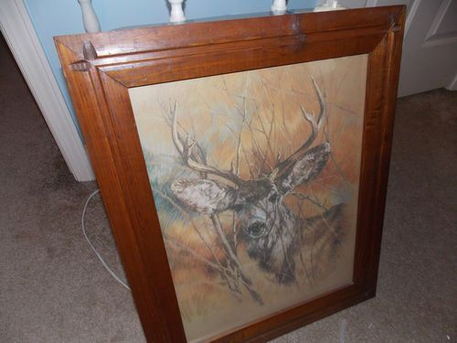 Home Interiors U0026 Gifts, Inc. Deer Picture