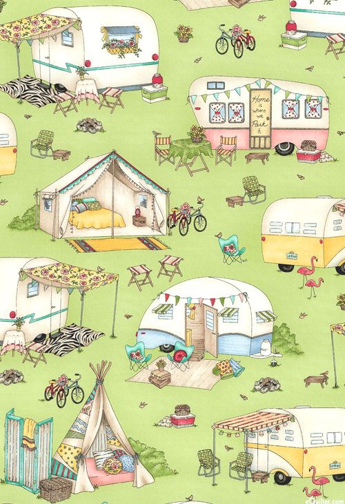 Roam Candy House – Glamping Tents & Trailers  – Quilt Materials from www.eQuilter.c…
