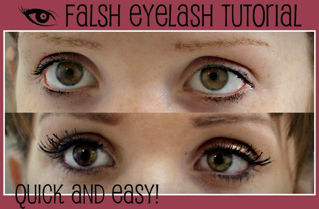 The Freckled Fox: Eyelash Tutorial: The quick and easy way!