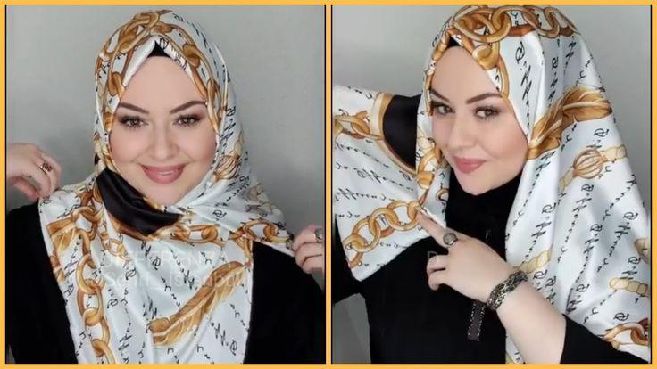 لفات حجاب تركية 2019 للعيد الجزء الثالث Hijab Fashion