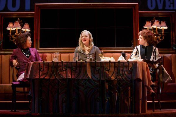 Ali Ahn, Elisabeth Moss, and Elise Kibler @ BroadwayWorld.com