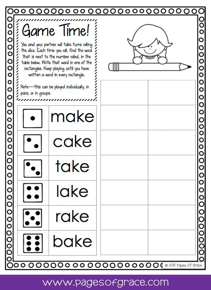 Class 1 Worksheets Word  Best Knd Grade Language Arts Images On Pinterest  Literacy  Feelings Worksheets For Kids Word with Addition Math Facts Worksheets Word Are You Looking For Some Fun Activities For Teaching Cvce Words Check Out  This No Mixed Numbers Fractions Worksheet Pdf