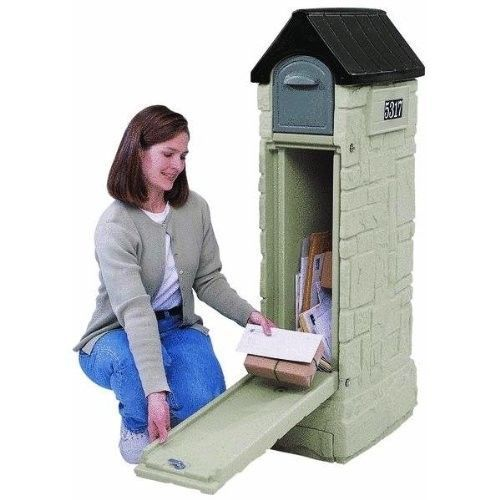 Convenient Mail Storage #Mailbox Secure Letters Boxes Packages Locking Box #Home Improvement