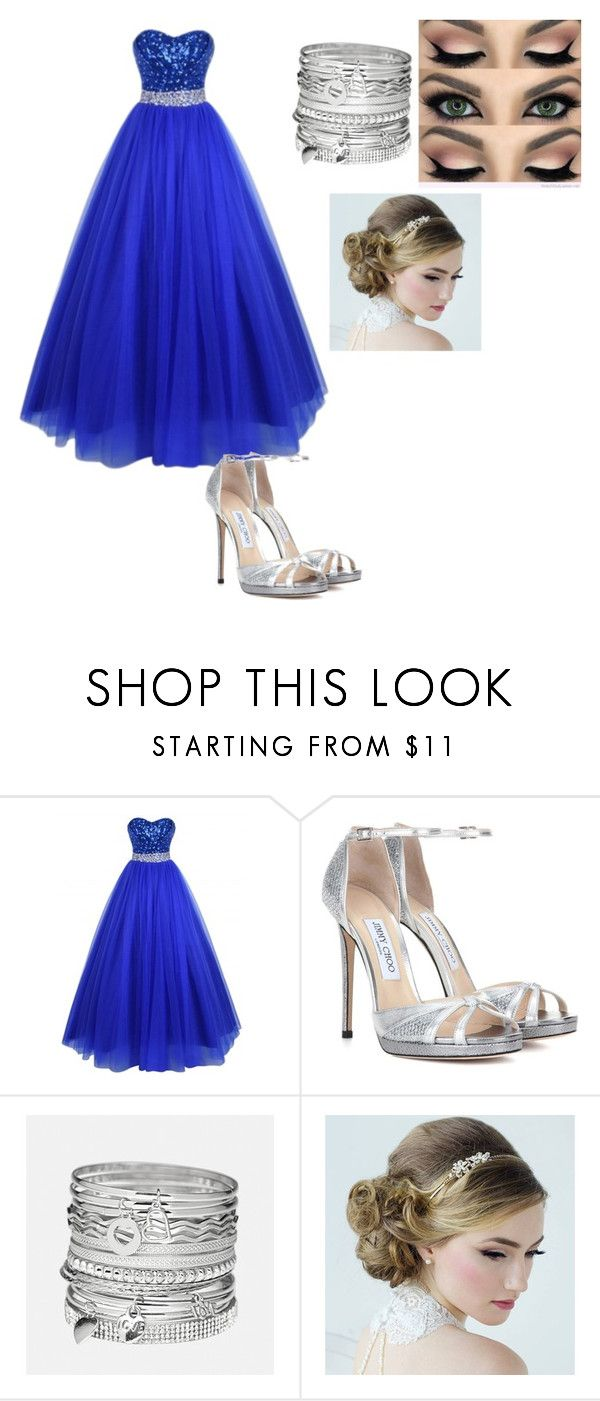 """Untitled #47"" by moriartylauren on Polyvore featuring beauty, Jimmy Choo and Avenue"