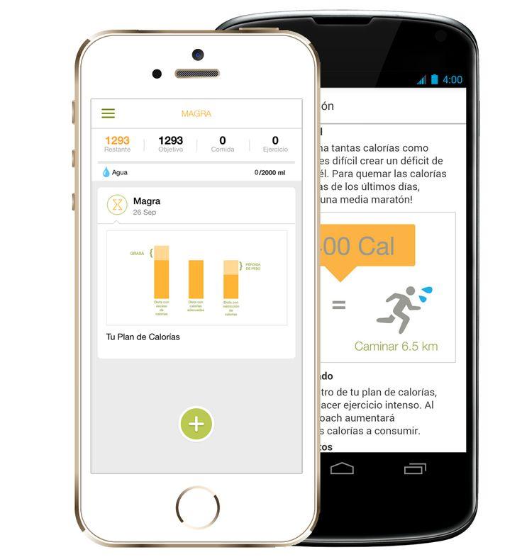 La mejor aplicacion para bajar de peso y estar saludable ya está disponible en Google Play y App Store.