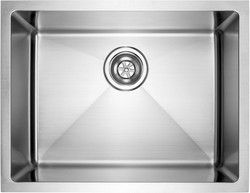 "fluid Model USR2318 Undermount Single Bowl Stainless Steel Kitchen Sink.  Overall Size: 23"" x 18"" x 9"""
