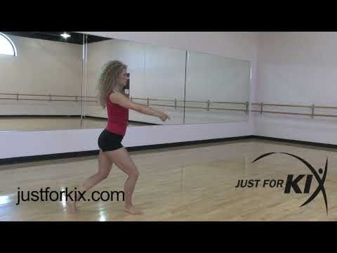 You can learn a Switch Firebird leap from watching this video. Just For Kix Dances explain all types of dance moves.