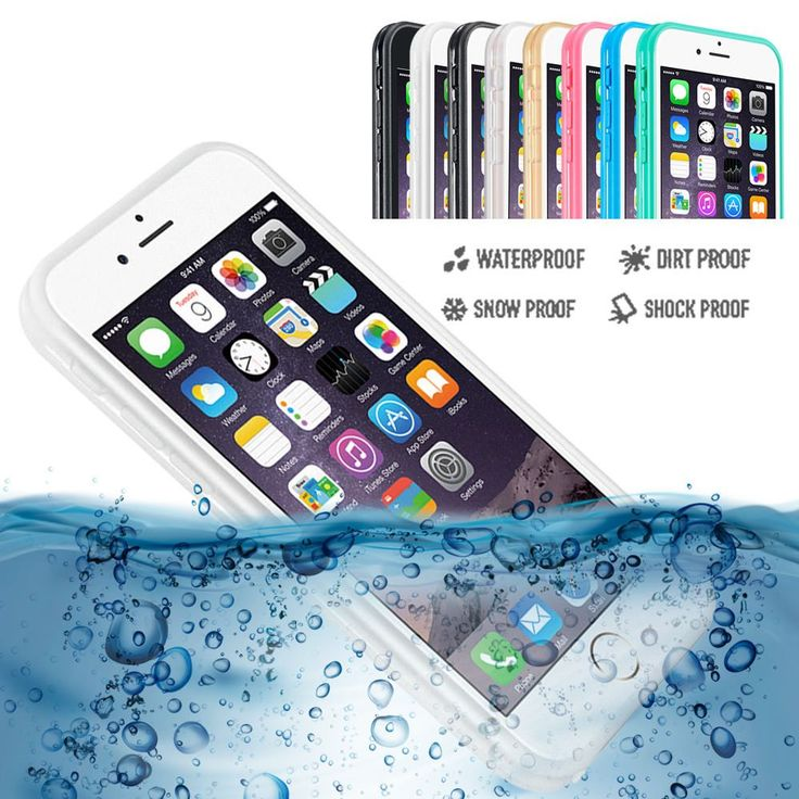 For iPhone 6s 6 6s Plus Slim Waterproof Phone Case Cover Shockproof DustProof Rubber Phone Bag Outdoor Cases //Price: $0.00//     #storecharger