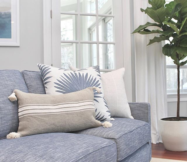Addie Stripe Tassel Pillow Cover