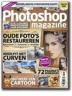 Tijdschrift boordevol workshops, achtergrondverhalen, tips en inspiratie voor gebruikers van het programma Adobe Photoshop. Te downloaden op iPad via de Tablisto-app.
