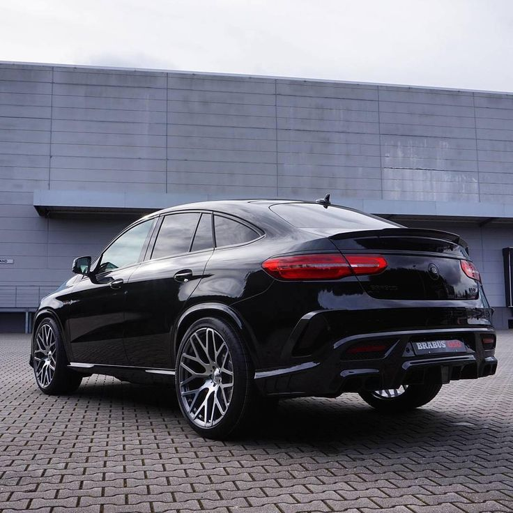 2016 Mercedes Benz Gle Coupe Suspension: 2016 BRABUS 850 Horsepower Tuned GLE 63 Coupe With New
