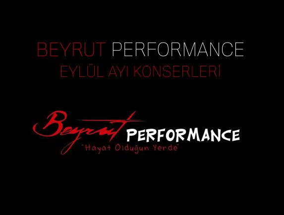 Beyrut Performance, 2014 Eylül Ayı Konserleri