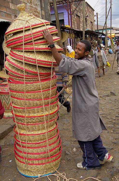 Africa   The Merkato, Africa's largest open-air market.  Addis Ababa, Ethiopia   ©Sergio Pessolano