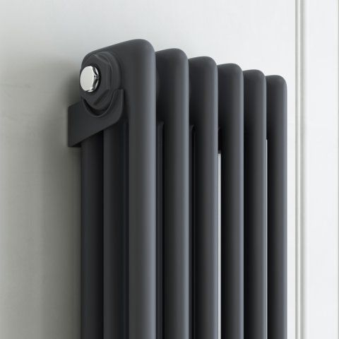 1800x290mm Anthracite Triple Panel Radiator | Soak.com