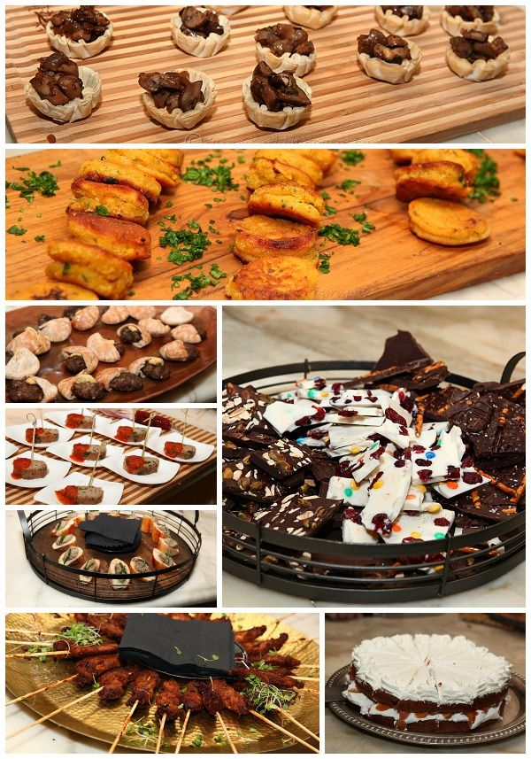 Some of the food from the party: Kosher Food, Launch Party, Cookbook Launch, Launch Parties, Kosher Cookbook