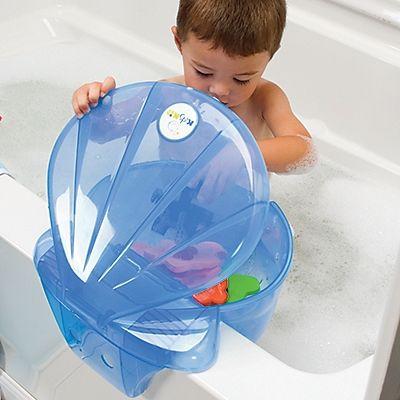 Bath Toy & Bathroom Accessory Organizer, Tub Storage Solution. Cute!