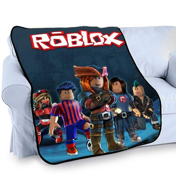 Nice Roblox Game Printed Photo Bed Throw Fleece Blanket
