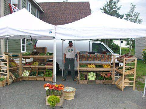 Crystal HartfordA fifth-generation Maine farmer, with a twist: Jason Hartford and his organic produce.