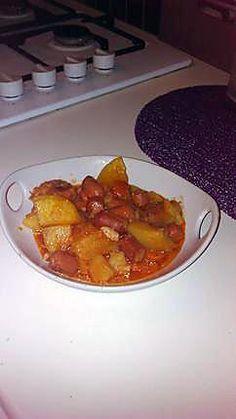 recette Ragout de pomme de terre aux saucisse de strasbourg